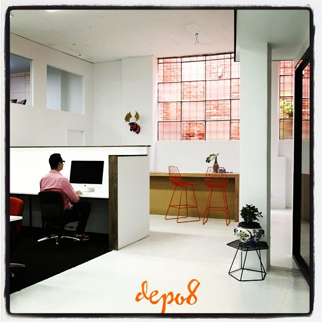 Our second co-working space is now ready! Rent a desk for $25/day :) #depo8 #startupaus #coworking #prahran #smallbiz