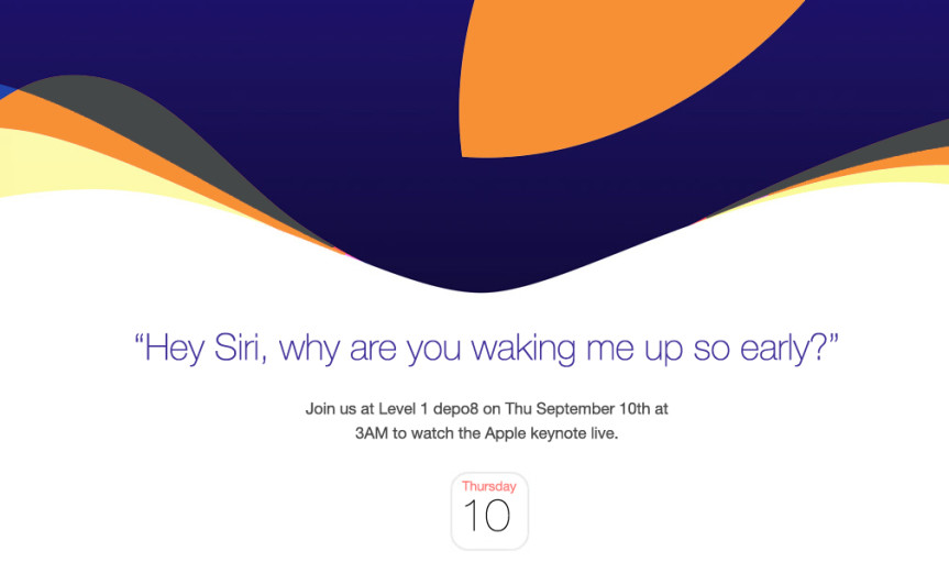 Apple Keynote Live at depo8 3AM 9 Sep FEAT
