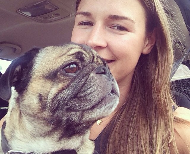 Stacey plus pug